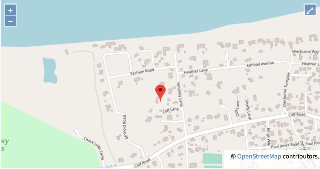 Location on Nantucket
