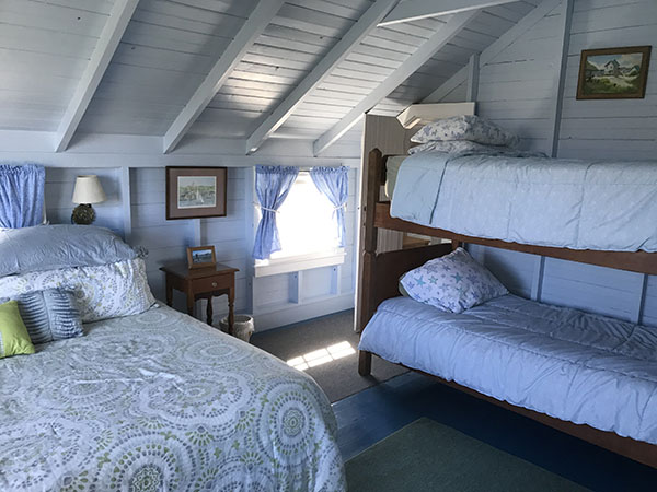 Blue Room with Bunk Beds